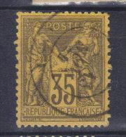 France N° 93 - 1876-1898 Sage (Type II)