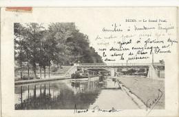 REIMS -  Le Grand Pont ( Cp Plus Petite 13.3x8.3 )  De 1905   54 - Reims