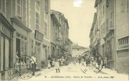 AMBERIEU EN BUGEY AIN 36 ROUTE DE VAREILLES ED. BF PARIS ECRITE CIRCULEE 1916 - Autres Communes
