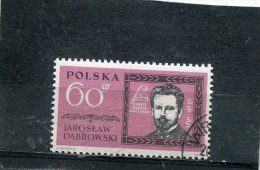 POLAND. 1962. SCOTT 1063. FAMOUS POLES TYPE OF 1961. JAROSLAW DABROWSKI - 1944-.... Repubblica