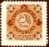 Czechoslovakia - Revenue Stamps RR!! Czechoslovakia Lion Cat,as Scan - Tchécoslovaquie