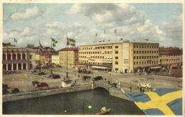 75555  - Suède     Gôteborg  Gustav Adolfs Torg - Suède