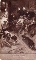 """Tableau USA, La Chasse Au  Renard Perturbe La Classe """"late For School""""  (32.58) - Peintures & Tableaux"""