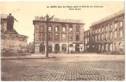Dépt 51 - REIMS - Place Royale, En Ruines Après La Retraite Des Allemands - Reims