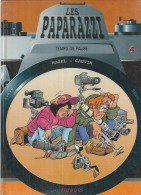 """LES PAPARAZZI """" TEMPS DE PAUSE """"  - MAZEL / CAUVIN - E.O. AOUT 1998  DUPUIS - Paparazzi, Les"""
