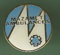 33621-Pin´s.Mazamet.ambul Ances.medical - Steden