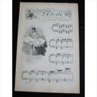 Partition , Supplément à L'Illustration Juin 1897 : L'étoile, Ballet De Aderer Et Roddez, Musique De André Wormser / Le - Opern