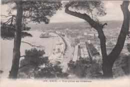 Carte Postale Ancienne De Nice - Vue Générale Prise Du Château - Nice