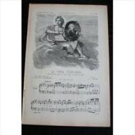 Partition , Supplément à L'Illustration Juin 1897 : La Vera Costanza (Opéra Bouffe) / Madrigal - Emile Bonnamy - Opern