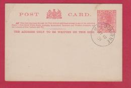 VICTORIA  //  ENTIER POSTAL   //  CACHET MELBOURNE  1901 - Grande-Bretagne (ex-colonies & Protectorats)