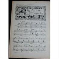 Partition , Supplément à L'Illustration Juillet 1897 : Historiette, Pensée Joyeuse Par Lucien Béry / Sérénade - Henri Ke - Opern