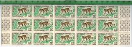Rep. Federale Du Cameroun, 1962 – Meerkatze – 0,50 F, 15 Stk ** Aus Bogen Mit Seitl. RandstückenZustand: Gut - Cameroon (1960-...)