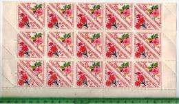 Rep. Federale Du Cameroun, 1962 – Blumen – 0,50 F, 30 Stk ** Aus Bogen Mit Seitl. RandstückenZustand: Gut - Cameroon (1960-...)