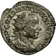 Monnaie, Gordien III, Antoninien, SUP, Billon, Cohen:121 - 5. L'Anarchie Militaire (235 à 284)