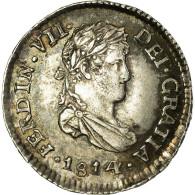 [#32547] Guatemala, Ferdinand VII, 1/2 Real, 1814, Villa Nueva Guatemala - Guatemala