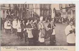 ARRAS   Le Char Funèbre Au Carrefour D'Haguerue Sa Grandeur Monseigneur De Villerabel Funérailles  Animée - Arras
