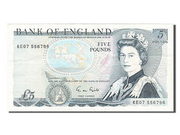 [#254875] Grande Bretagne, 5 Livres, Type Duc De Wellington - 1952-… : Elizabeth II.
