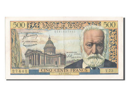 [#203240] 500 Francs Type Victor Hugo, 04 Août 1955, Fayette 35.5 - 1871-1952 Circulated During XXth