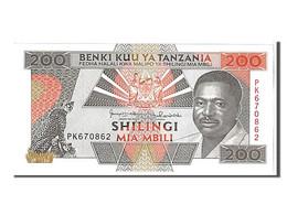 Tanzanie, 200 Shilingi Type Président Mwinyi - Tanzania