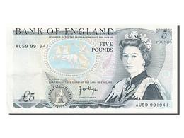 [#254878] Grande Bretagne, 5 Livres, Type Duc De Wellington - 1952-… : Elizabeth II