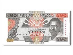 [#107898] Tanzanie, 200 Shilingi Type Président Mwinyi - Tanzanie