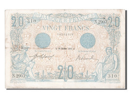 20 Francs Type Bleu - 1871-1952 Anciens Francs Circulés Au XXème