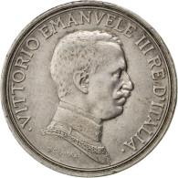 Italie, Victor Emmanuel III, 2 Lire, 1916 R (Rome), KM 55 - 1900-1946 : Vittorio Emanuele III & Umberto II