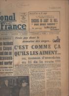 JOURNAL PRESSE  LE MERIDIONAL LA FRANCE 13 JANVIER 1957 - Journaux - Quotidiens