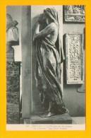 CPA  FRANCE  10  -  TROYES  -  87  Le Musée De Sculpture  « La Douleur » Par Paul Dubois - Troyes