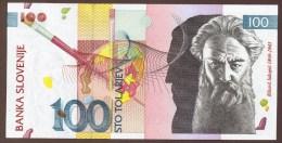 SLOVENIA 100 TOLARJEV 15.01.2003  SERIE CK - Slovénie