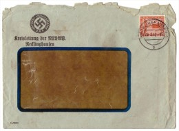 Briefumschlag , Kreisleitung Der NSDAP Recklinghausen 1942 !!! - Briefe U. Dokumente