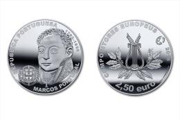 "PORTUGAL   2,50€   2.014  2014  Cu Ni   ""MARCOS PORTUGAL""      SC/UNC     T-DL-10.833 - Portugal"