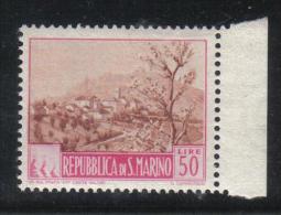 SS1662A - SAN MARINO  , Paesaggi Il 50 Lire N. 353  ***  MNH - Nuovi