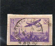 FRANCE   2,25 F      Année 1936     Y&T:  PA 10   (sur Fragment Oblitéré) - Airmail