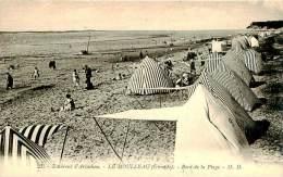 Belle CPA  -   Le Moulleau. Bord De La Plage. E 622 Animée - Autres Communes