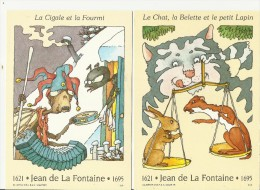 =FR GS*2 1995 Jean De La Fontaine - Ganzsachen