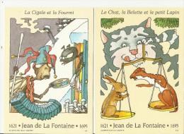=FR GS*2 1995 Jean De La Fontaine - Postal Stamped Stationery