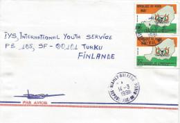 Niger 1991 Niamey Balafon Independence 85f Cover - Niger (1960-...)