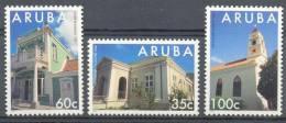 Mnx0151 ARCHITECTUUR GEBOUWEN MONUMENTEN ARCHITECTURE BUILDINGS MONUMENTS ARUBA 1995 PF/MNH - Monumenten
