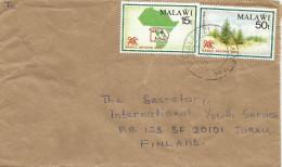Malawi 1990 Nwaladzi SADCC Forestry Cedar Tree Planting Reforestation Cover - Malawi (1964-...)