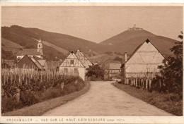 67. Orschwiller. Vue Sur Le Haut Koenigsbourg - France