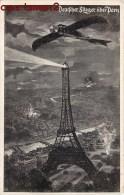 BOMBARDEMENT ALLEMAND SUR PARIS TOUR-EIFFEL AVIATION ALLEMANDE GUERRE DEUTSCHER FLIEGER PATRIOTISME DEUTSCHLAND KRIEG - Guerre 1914-18