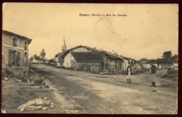 Cpa Du 55 Dugny Rue  Des éclopés ... Verdun  NAT8 - Verdun