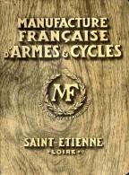 Catalgue Manufrance (Manufacture Française D'Armes Et Cycles) 1931, Saint-Etienne, Loire (42) - Livres, BD, Revues