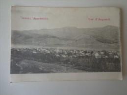 CPA GRECE VUE D' ARGOSTOLI - Greece