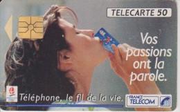 JEUX OLYMPIQUE D'ALBERTVILLE 1992 : TELEPHONE LE FIL DE LA VIE - Jeux Olympiques