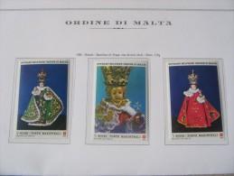 SMOM 1986 NATALE BAMBINO DI PRAGA - VALORI INTEGRI - Sovrano Militare Ordine Di Malta