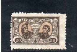 LITUANIE CENTRALE 1921 * - Lituanie