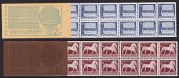 1973 Art  Antique:  Cheval Et Navire Viking  Carnets Complets  ** - Booklets
