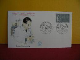 FDC- Bernard Halpern 1904/1978 - Paris- 21.2.1987 - 1er Jour, - 1980-1989